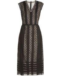 Bottega Veneta   Layered Silk-organza Dress   Lyst