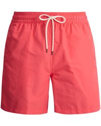 Polo Ralph Lauren - Logo-embroidered Swim Shorts - Lyst