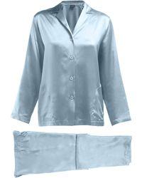 La Perla - Silk Satin Pyjama Set - Lyst