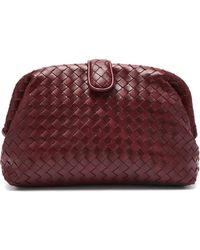 Bottega Veneta - The Lauren 1980 Leather Clutch - Lyst