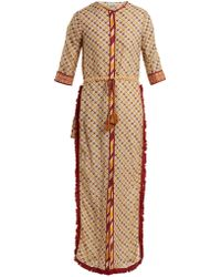Talitha - Tutsi Graphic-print Cotton And Silk-blend Cover-up - Lyst