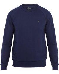 Polo Ralph Lauren - Crew-neck Logo-print Performance Sweatshirt - Lyst