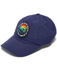 Ralph Lauren Purple Label - Logo Patch Baseball Cap - Lyst