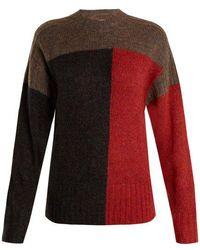 Étoile Isabel Marant - Davy Colour Block Knit Jumper - Lyst