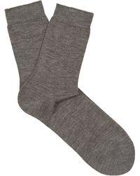 Falke - No.1 Finest Cashmere Blend Socks - Lyst