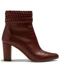 Altuzarra - Ghianda Block-heeled Ankle Boots - Lyst