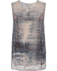 Raquel Allegra | Sunset Tie-dye Silk Top | Lyst