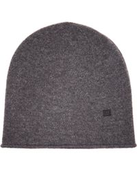 Acne Studios - Face Wool Beanie Hat - Lyst