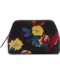 Diane von Furstenberg | Silese-print Canvas Cosmetics Case | Lyst