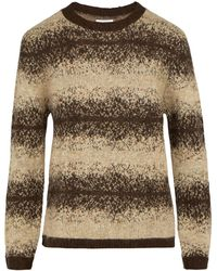 Saturdays NYC - Wade Ombré Striped Knit Sweater - Lyst