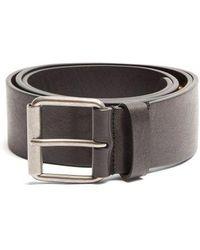 Balenciaga - Logo-embellished Leather Belt - Lyst