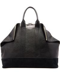 Alexander McQueen - East West De Manta Leather Tote Bag - Lyst