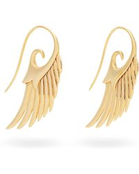 Noor Fares - Fly Me To The Moon 18kt Gold Earrings - Lyst