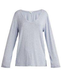 Skin - Helene Jersey Pyjama Top - Lyst