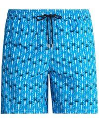 Le Sirenuse - Melody Print Swim Shorts - Lyst