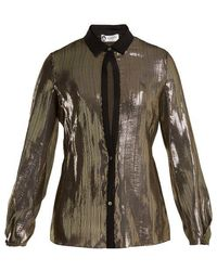 Lanvin - Striped Silk Shirt - Lyst