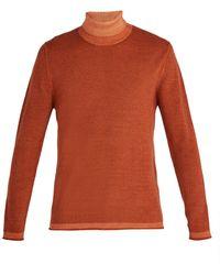 Altea - Roll-neck Wool Jumper - Lyst
