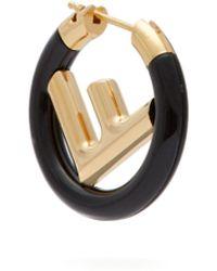 Fendi - F Is Hoop Single Earring - Lyst