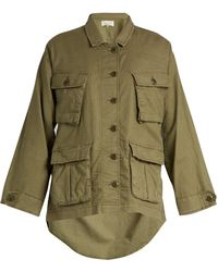 The Great - The Commander Lightweight Woven Jacket - Lyst