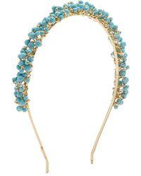 Rosantica By Michela Panero - Bouquet Bead-embellished Headband - Lyst