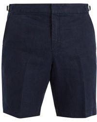 Orlebar Brown - Norwich Linen Shorts - Lyst