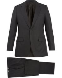 Kilgour - Single Breasted Wool Blend Suit - Lyst