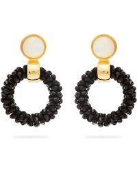 Lizzie Fortunato - Brancusi Hoop Earrings - Lyst
