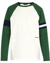 CALVIN KLEIN 205W39NYC - Raglan-sleeve Cotton-jersey T-shirt - Lyst
