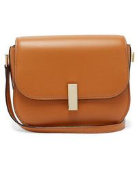 Valextra - Iside Cross-body Leather Bag - Lyst