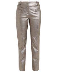 Sies Marjan - Louisa Leather Biker Trousers - Lyst
