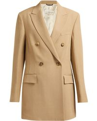 Golden Goose Deluxe Brand - Blazer long à double boutonnage - Lyst