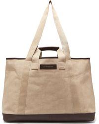 994a8ba8a1 Want Les Essentiels De La Vie - Grantley Canvas Weekend Tote Bag - Lyst
