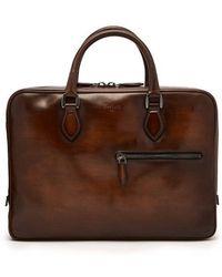 Berluti - Venezia Leather Briefcase - Lyst