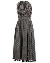 Altuzarra - Vivienne Broderie-anglaise Gathered Dress - Lyst