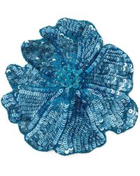 Racil - Flower Brooch - Lyst