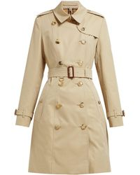 Burberry - Chelsea Heritage Cotton Gabardine Trench Coat - Lyst