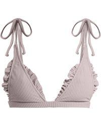 Made By Dawn - Traveller Triangle Bikini Top - Lyst