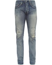 AG Jeans - The Matchbox Mid-rise Relaxed-fit Jeans - Lyst