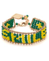 Rosantica By Michela Panero - Smile Beaded Bracelet - Lyst