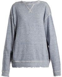 R13 - Linen And Cotton Blend Sweater - Lyst