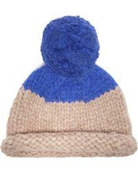 ed0d7ad2188 Lola Hats - Snowball Alpaca Blend Beanie Hat - Lyst