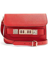 Proenza Schouler - Ps11 Mini Leather Shoulder Bag - Lyst