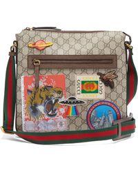 Gucci - Courrier Gg Supreme Messenger Bag - Lyst