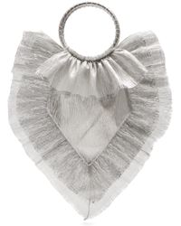 The Vampire's Wife - Ruffle Trimmed Woven Clutch - Lyst