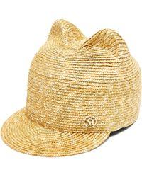Maison Michel - Jamie Straw Hat - Lyst