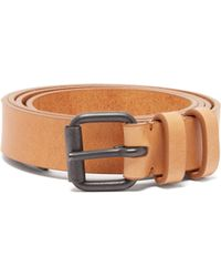 Haider Ackermann - Buckled Leather Belt - Lyst