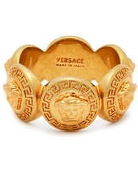 Versace - Medusa Crest Ring - Lyst