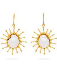 Sylvia Toledano - - Calcedonie & Malachite Drop Earrings - Womens - Green - Lyst