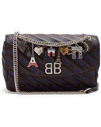 Balenciaga - Bb Round M Bag - Lyst