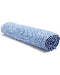 Frescobol Carioca   Ipanema Geometric-jacquard Linen Towel   Lyst